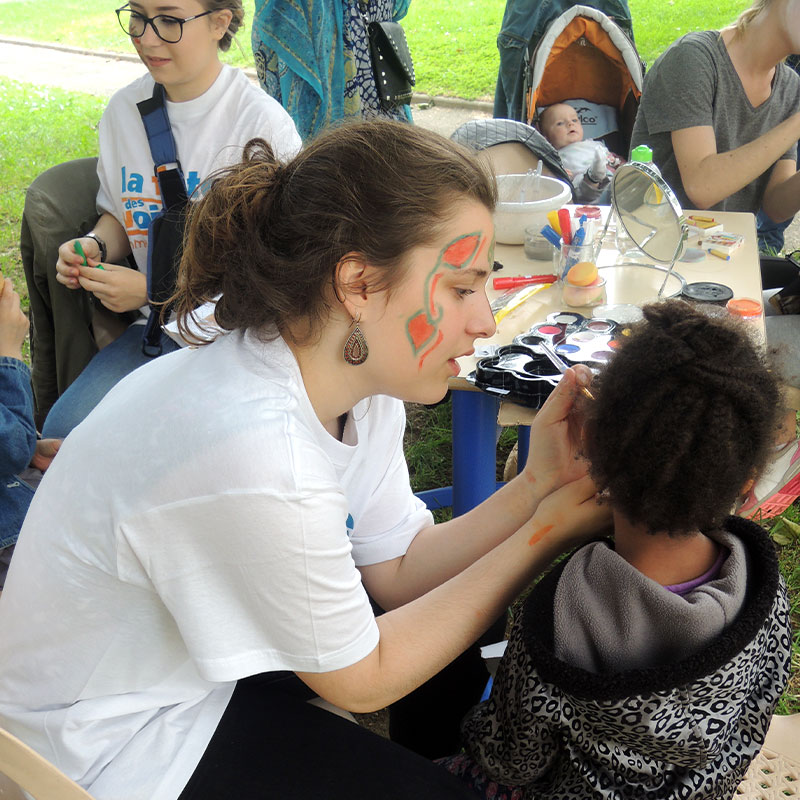 Animation atelier maquillage