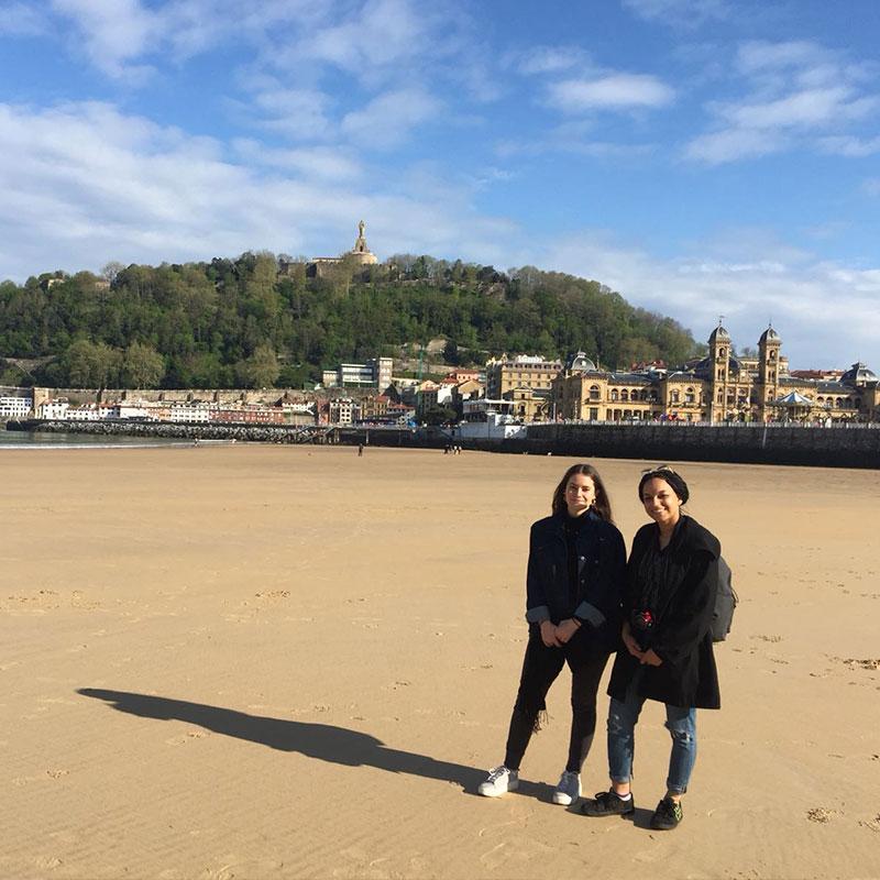 Imane et Tipahine en Espagne