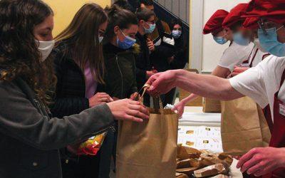 La sandwicherie, merci aux élèves du CAP PSR !